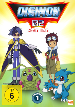 Digimon 02 - Zero Two - Staffel 2 Vol. 1 (3 DVDs)