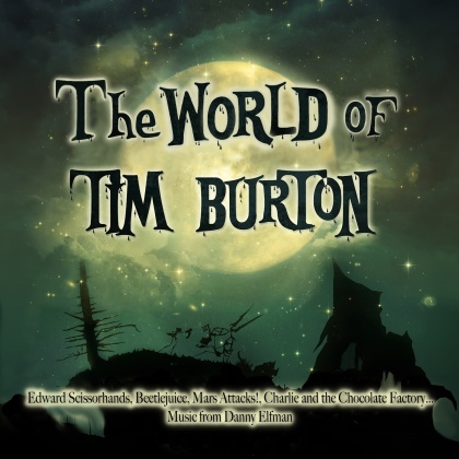Danny Elfman - World Of Tim Burton - OST (2021 Reissue, Diggers Factory, Colored, 2 LPs)