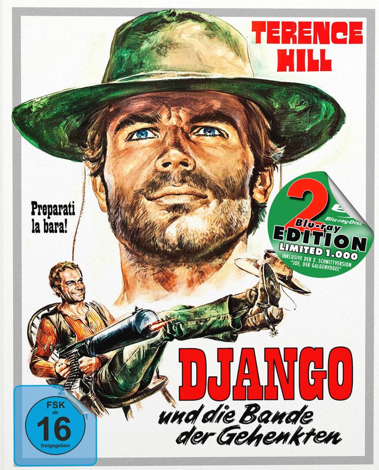 Django und die Bande der Gehenkten (1968) (Cover A, Edizione Limitata, Mediabook, 2 Blu-ray)