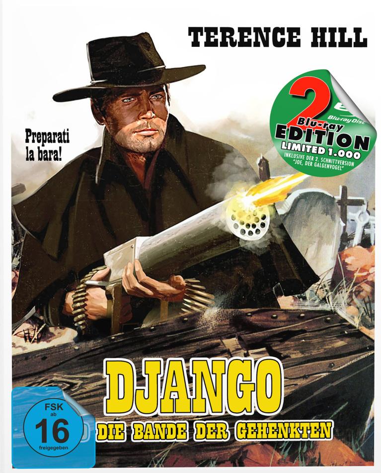Django und die Bande der Gehenkten (1968) (Cover B, Edizione Limitata, Mediabook, 2 Blu-ray)