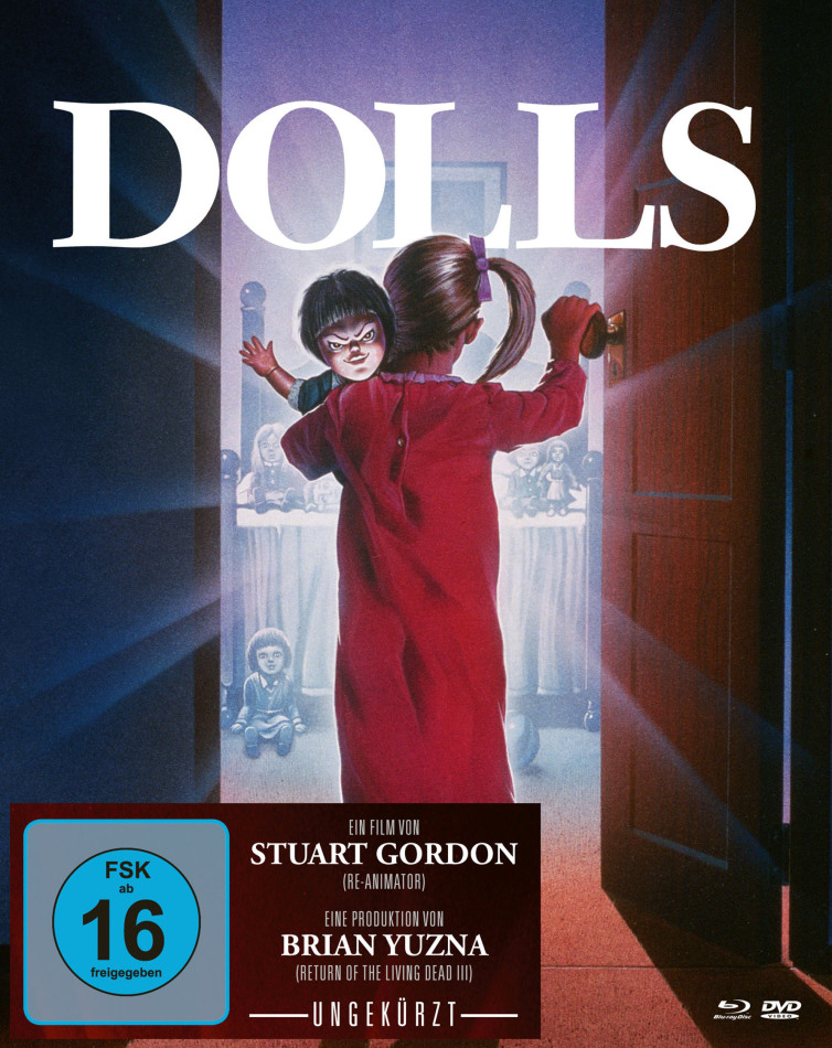 Dolls (1987) (Limited Edition, Mediabook, Uncut, Blu-ray + DVD)