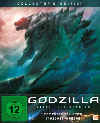 Godzilla - Planet der Monster (2017) (Digipack, Collector's Edition)