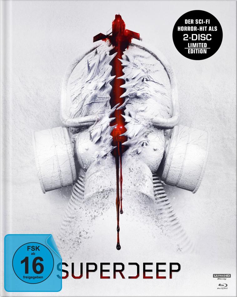 Superdeep (2020) (Limited Edition, Mediabook, 4K Ultra HD + 2 Blu-rays)