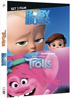 Baby Boss + Trolls - Cofanetto Dreamworks (2 DVD)