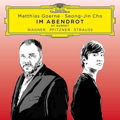 Richard Wagner (1813-1883), Hans Erich Pfitzner (1869-1949), Richard Strauss (1864-1949), Matthias Goerne & Seong-Jin Cho - Songs