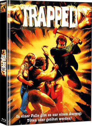 Trapped (1982) (Cover A, Limited Edition, Mediabook, Blu-ray + DVD)