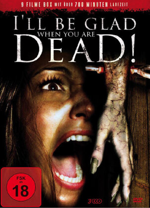 I'll be glad when you are dead! - 9 Filme Box (3 DVDs)