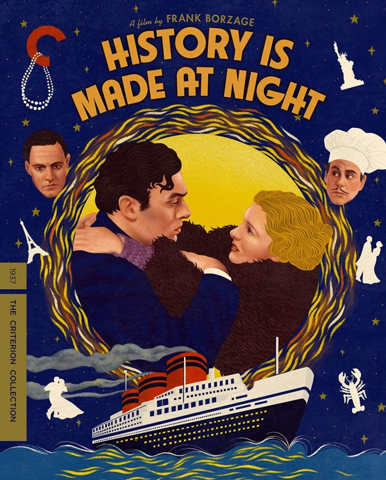 History Is Made At Night (1937) (s/w, Criterion Collection)