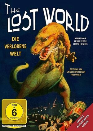 Die verlorene Welt - in kolorierter Fassung (1925) (Uncut)