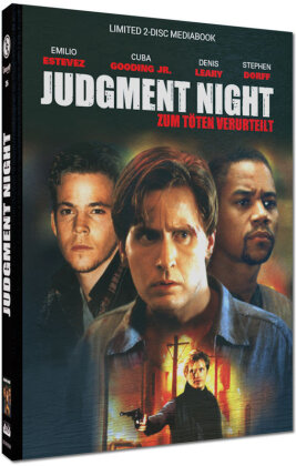 Judgment Night - Zum Töten verurteilt (1993) (Cover B, Limited Cinestrange Extreme Edition, Mediabook, Blu-ray + DVD)