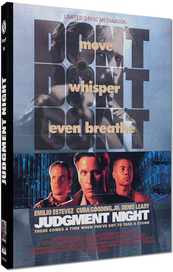 Judgment Night - Zum Töten verurteilt (1993) (Cover C, Limited Cinestrange Extreme Edition, Mediabook, Blu-ray + DVD)