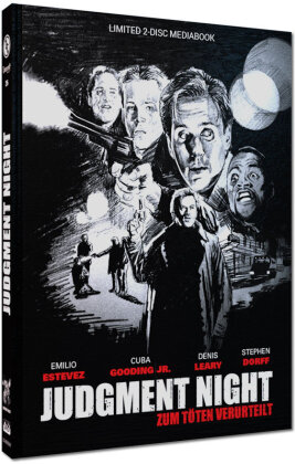 Judgment Night - Zum Töten verurteilt (1993) (Cover D, Limited Cinestrange Extreme Edition, Mediabook, Blu-ray + DVD)