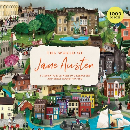 The World of Jane Austen - 1000 Piece Jigsaw Puzzle