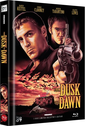From dusk till dawn (1996) (Cover A, Limited Collector's Edition, Mediabook, Uncut, 2 Blu-rays)