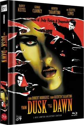 From dusk till dawn (1996) (Cover B, Collector's Edition Limitata, Mediabook, Uncut, 2 Blu-ray)