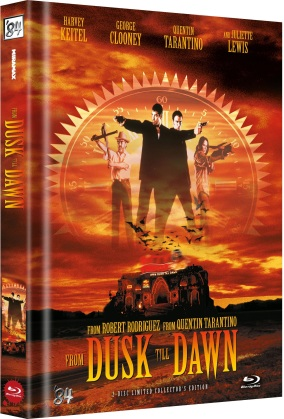 From dusk till dawn (1996) (Cover C, Limited Collector's Edition, Mediabook, Uncut, 2 Blu-rays)