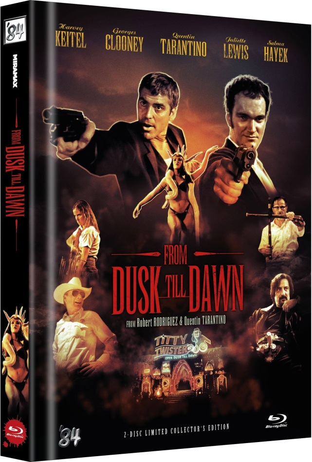 From dusk till dawn (1996) (Cover D, Limited Collector's Edition, Mediabook, Uncut, 2 Blu-rays)