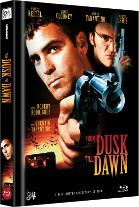 From dusk till dawn (1996) (Cover E, Limited Collector's Edition, Mediabook, Uncut, 2 Blu-rays)
