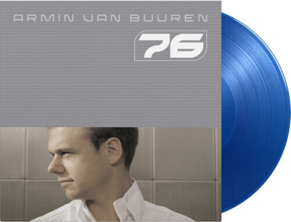 Armin Van Buuren - 76 (2021 Reissue, Music On Vinyl, Gatefold, limited to 2500 Copies, Transparent Blue Vinyl, 2 LPs)