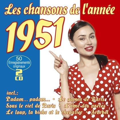 Les Chansons De l'Année 1951 (2 CDs)