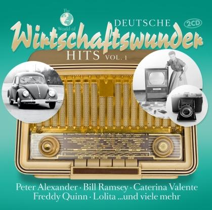 Deutsche Wirtschaftswunder Hits Vol. 1 (2 CDs)