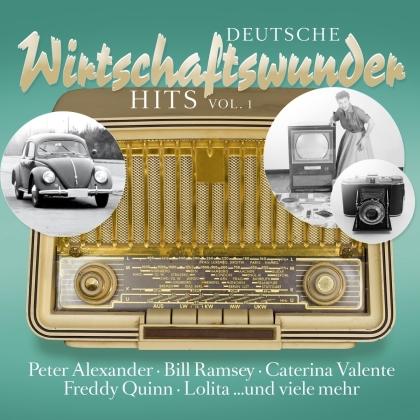 Deutsche Wirtschaftswunder Hits Vol. 1 (LP)