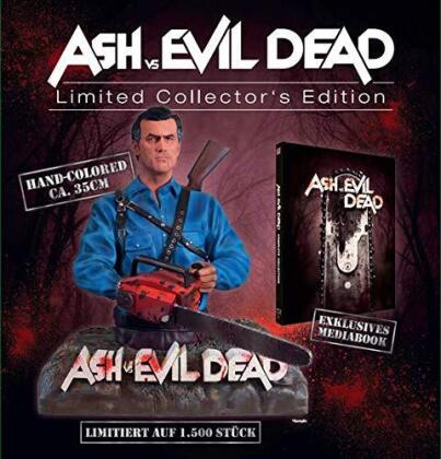 Ash vs Evil Dead - Staffel 1 & 2 (+ Büste, Limited Collector's Edition, Mediabook, 4 Blu-rays)