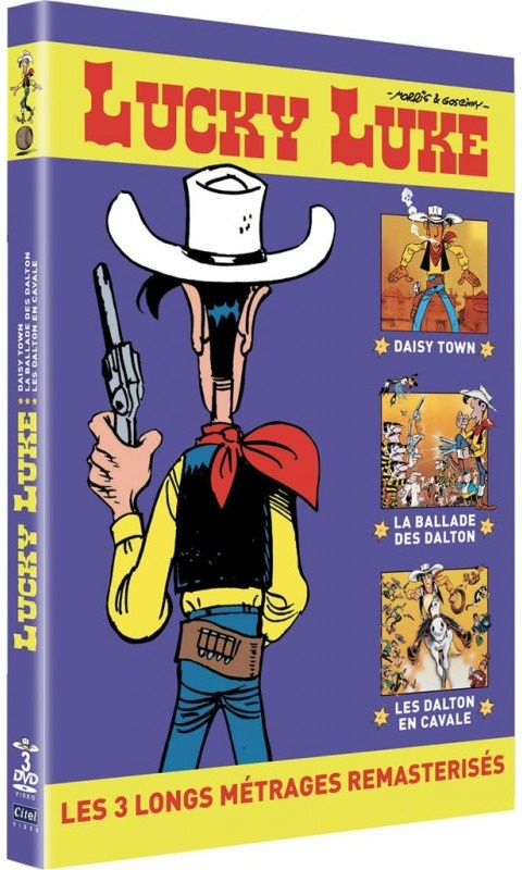 Lucky Luke - Daisy Town / La ballade des Dalton / Les Dalton en cavale (Remastered, 3 DVDs)