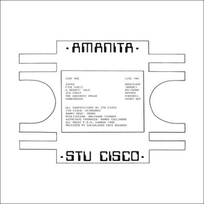 Stu Cisco - Amanita (2021 Reissue, Limited Edition, Remastered, LP)