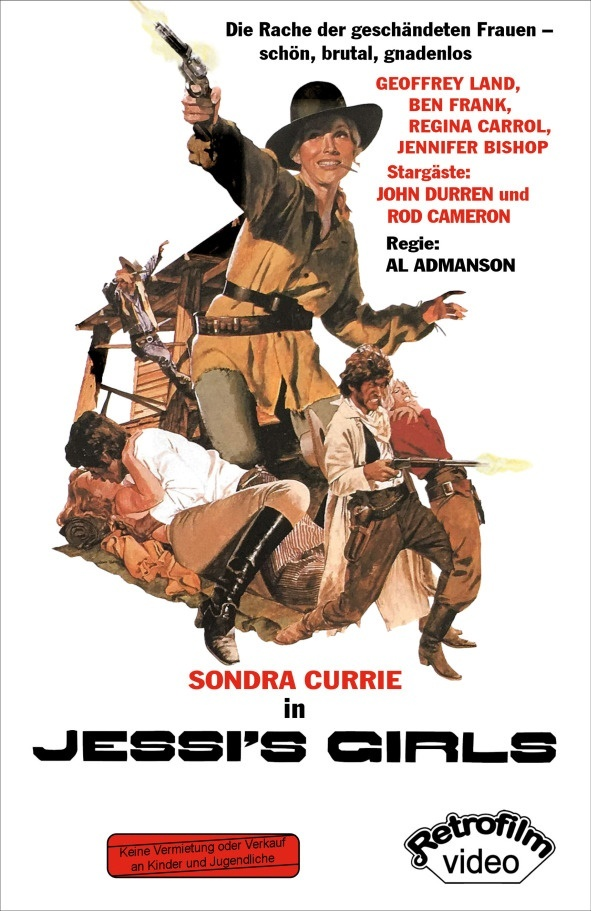 Jessi's Girls (1975) (Cover A, Grosse Hartbox, Limited Edition, Blu-ray + DVD)