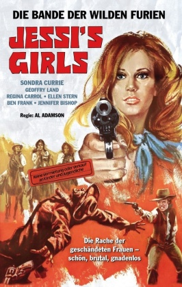 Jessi's Girls (1975) (Cover B, Grosse Hartbox, Limited Edition, Blu-ray + DVD)