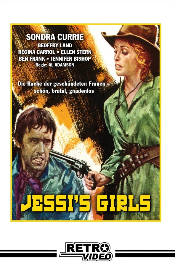 Jessi's Girls (1975) (Cover C, Grosse Hartbox, Limited Edition, Blu-ray + DVD)