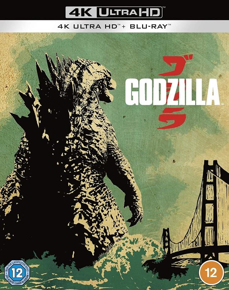 Godzilla (2014) (4K Ultra HD + Blu-ray)