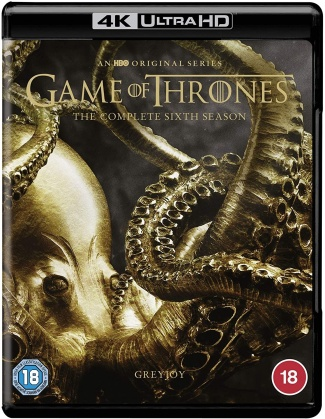 Game Of Thrones - Season 6 (4 4K Ultra HDs)