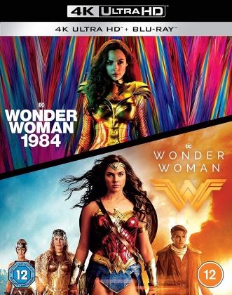 Wonder Woman / Wonder Woman 1984 (2 4K Ultra HDs + 2 Blu-rays)