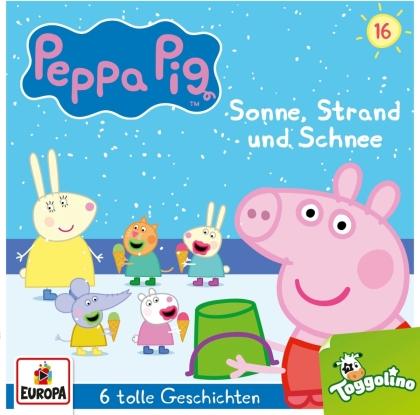 Peppa Pig Hörspiele - 016/Sonne, Strand und Schnee (und 5 weitere Geschi
