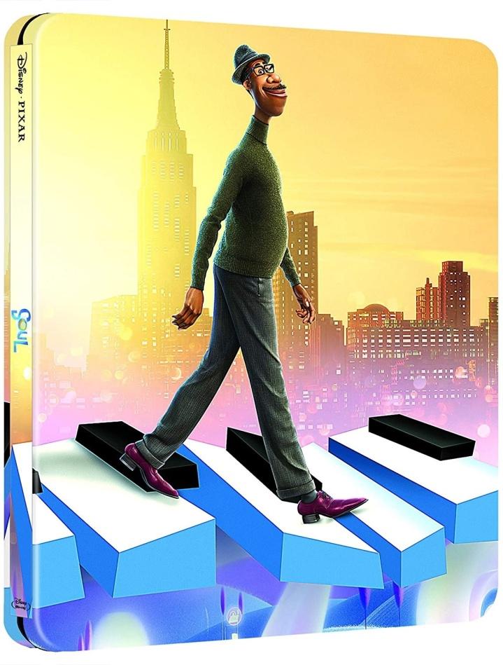 Soul (2020) (Limited Edition, Steelbook, 2 Blu-rays)