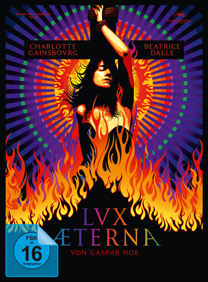 Lux Aeterna (2019) (Cover A, Limited Edition, Mediabook, Blu-ray + DVD)