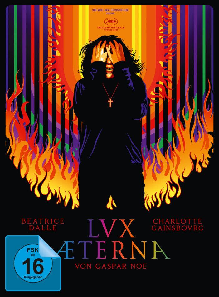 Lux Aeterna (2019) (Cover B, Limited Edition, Mediabook, Blu-ray + DVD)
