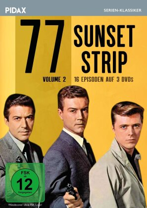 77 Sunset Strip - Vol. 2 (Pidax Serien-Klassiker, 3 DVDs)