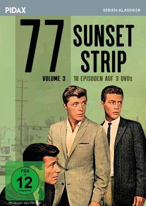 77 Sunset Strip - Vol. 3 (Pidax Serien-Klassiker, 3 DVD)