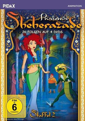 Prinzessin Sheherazade - Staffel 2 (Pidax Animation, 4 DVDs)