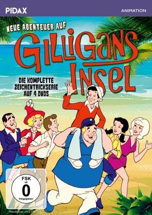 Neue Abenteuer auf Gilligans Insel - Die komplette Zeichentrickserie (Pidax Animation, 4 DVDs)