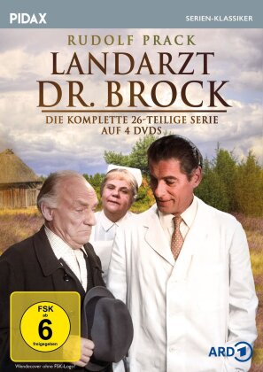 Landarzt Dr. Brock - Die komplette 26-teilige Serie (Pidax Serien-Klassiker, 4 DVDs)