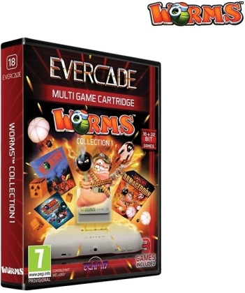 Blaze Evercade Worms Cartridge