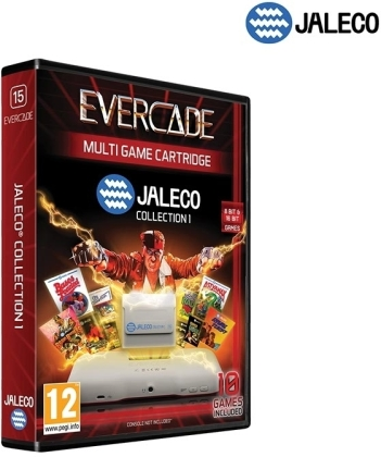 Blaze Evercade Jaleco 1 Cartridge