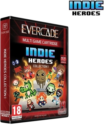 Blaze Evercade Indie Heroes Cartridge 1
