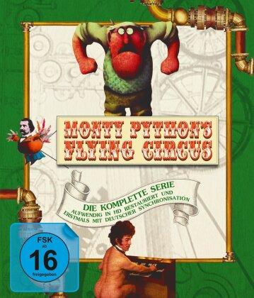 Monty Python's Flying Circus - Die komplette Serie - Staffel 1-4 (Restaurierte Fassung, 7 Blu-rays)
