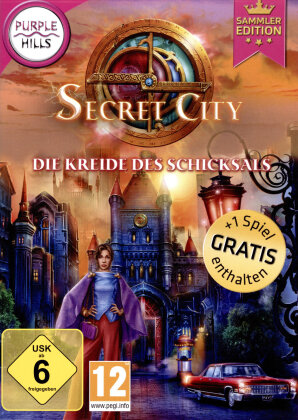 Secret City 4 - Kreide des Schicksals