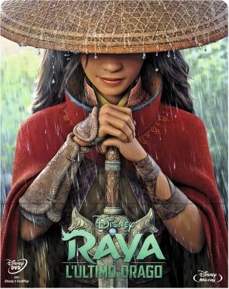 Raya e l'ultimo drago (2021) (Limited Edition, Steelbook, Blu-ray + DVD)